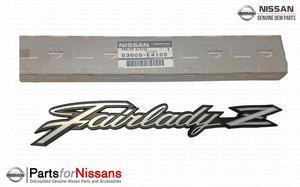 Nismo JDM S30 Fairlady Z Metal Fender Emblem
