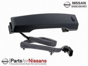 Titan Outside Door Handle Midnight Edition - Smart Key - Nissan (80640-EZ00A)