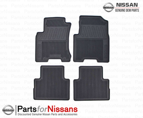 All Season Floor Mats 4 Pc Set - Nissan (999E1-GU001BV)
