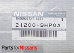 Thermostat Unit - Nissan (21200-9HP0A)