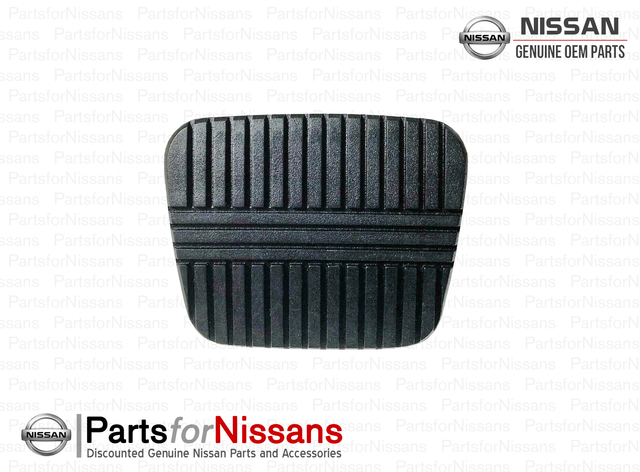 Genuine Nissan S13 R32 GTS-4 GTST Manual Clutch or Brake Pedal Pad - Nissan (46531-V5000)