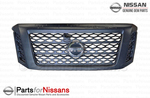 Titan Grille Assembly Midnight Edition - Nissan (62310-EZ55D)
