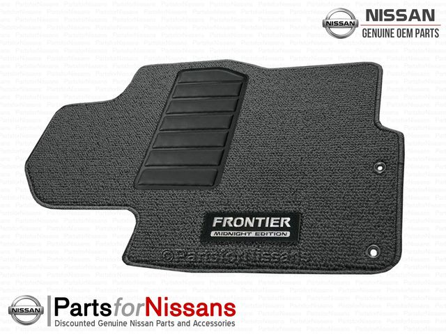 Frontier Floor Mats, Carpet, Midnight Edition - Nissan (999E2-B6000)