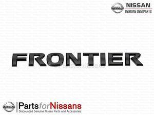Frontier Rear Emblem Midnight Edition - Nissan (93494-9BP0A)