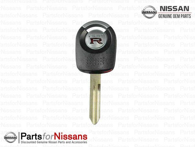 Skyline R34 BNR34 Uncut Master Key Blank - Nissan (H0564-AA410)