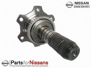 JDM Nissan 180SX S13 S14 R32 R33 (RB20 RB25) Left Rear Differential Flange - Nissan (38220-52F01)