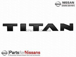 Nameplate - Nissan (80892-9FT2A)