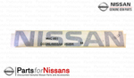 Nameplate - Nissan (73164-EA00A)