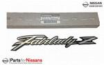 Nismo JDM S30 Fairlady Z Metal Fender Emblem - Nissan (63805-E4100)