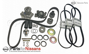 1990-1993 300ZX 120K Timing Belt Kit - Non Turbo - Nissan (90-93Z32120K)