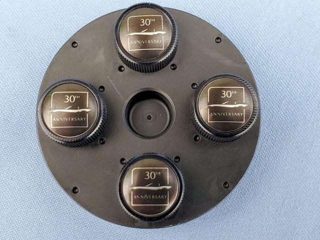 MX-5 30th Anniversary Valve Stem Caps Set - Mazda (N377-V3-820)
