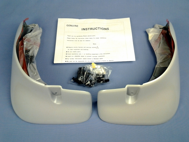 Rear Mud Guards Small - Mazda (NC10-V3-460F)