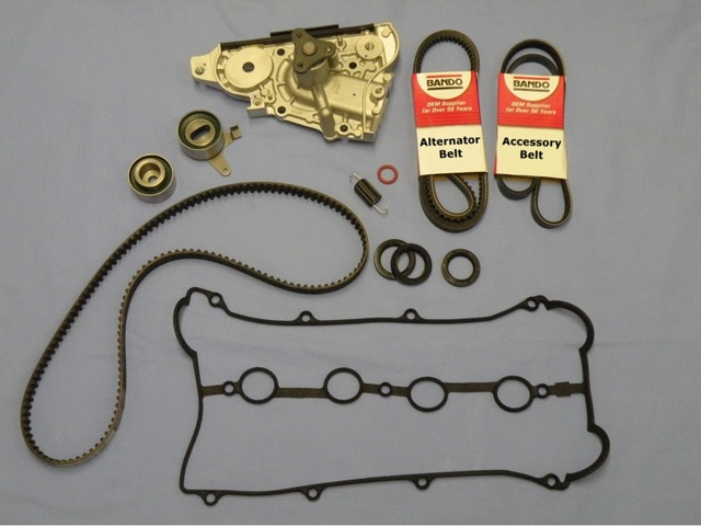 2001-2005 Miata Non Turbo w/AC and w/PS Timing Belt Water Pump Kit - Mazda (PKMK013)