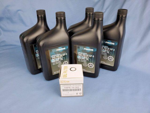 Mazda Skyactiv Oil Change Kit - Mazda (PK1WPE-0W20)