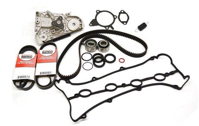 1990-1991 Miata w/PS w/AC Timing Belt Water Pump Kit - Mazda (PKMK001)
