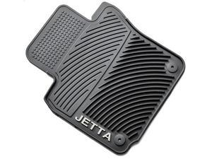 Monster mats, All weather mats, Rubber mats, Winter Mats, with  Jetta logo set of 4, black. - Volkswagen (5C7-061-550-A-041)