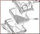 Genuine Toyota Air Filter - Toyota (1780138051)