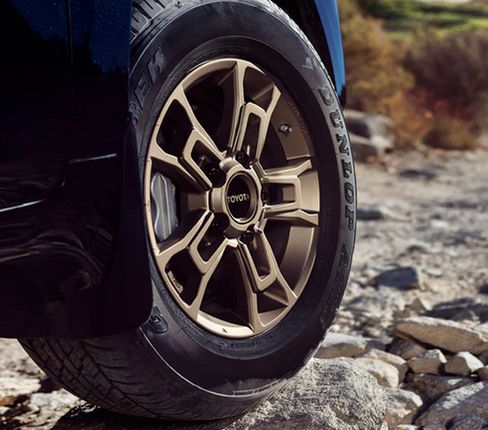 "18"" TRD PRO Alloy Wheel - Heritage Edition in Matte Bronze - Toyota (PT960-60200-05)"