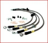 Stainless Steel Front Brake Lines - StopTech (950.44007)