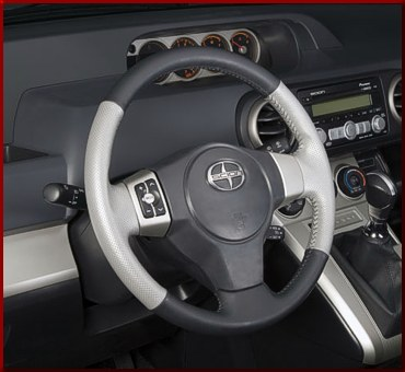 Leather Steering Wheel - Toyota (0846012820)