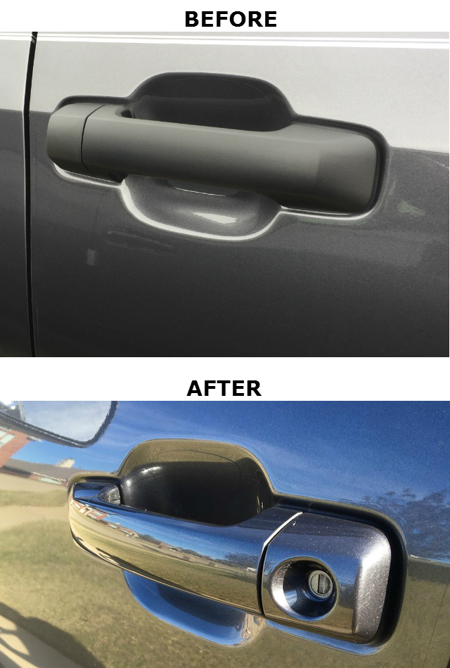 Color Matched Exterior Door Handles (Reg & Dbl Cab) - Custom (69210-0C030-KITDR)