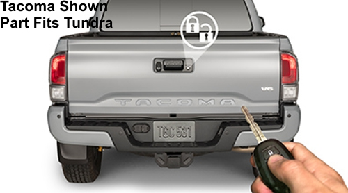 Tailgate Power Lock - Standard Wheelbase - Toyota (PK3B6-34JS0)