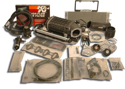 Chevrolet GMC Truck/SUV 2003-2004 5.3L Flex Fuel Magnuson Supercharger - Magnuson (01-19-59-991-BL)