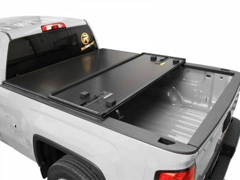 2014-2019 TONNEAU COVER HARD TRI-FOLDING COVER 6.5 BED By Rugged Cover - Toyota (HCTUN6514)