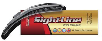 Genuine Toyota Sightline Wiper Blade 600mm - Toyota (85212-YZZ1P-TM)
