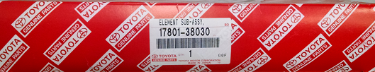 2 Pack of Genuine Toyota Air Filters - Toyota (17801-38030-2)
