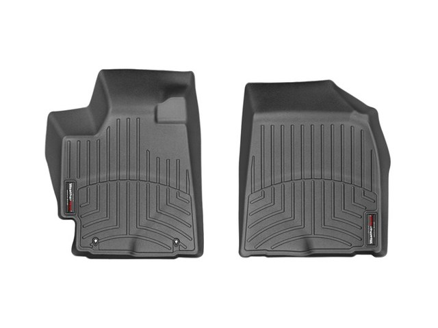 2008-2013 Highlander non Hybrid 1st Row Floor Liners - Black - Toyota (441151)