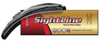 Genuine Toyota Sightline Wiper Blade 650mm - Toyota (85212-YZZ1Q-TM)