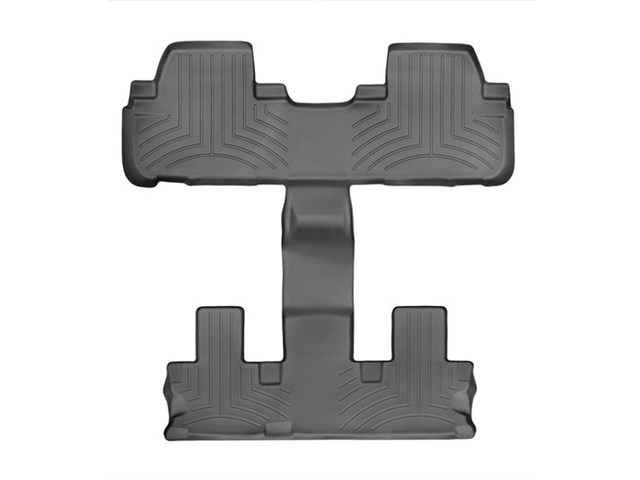 2014-2019 Highlander Non Hybrid With 2nd Row Bucket Seats, 2nd and 3rd row Combo Floor Liners - Black - Toyota (446324)
