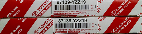 2 Pack of Genuine Toyota Cabin Air Filters - Toyota (87139-YZZ19-2)