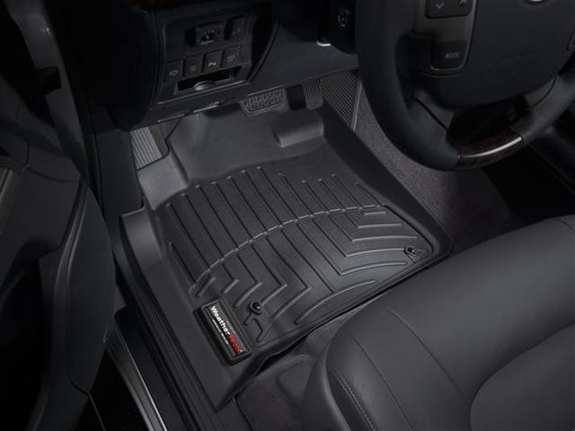 2008-2011 Land Cruiser 1st Row Floor Liners - Black - Toyota (441571)