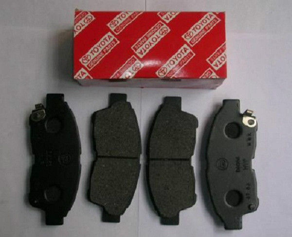 Rear Genuine Toyota Ceramic Brake Pad Set - Toyota (04466-AZ107)