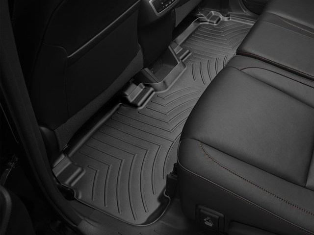 2014-2019 Highlander Hybrid and non Hybrid Models With 2nd Row Bench Seats, 2nd Row Floor Liner - Black - Toyota (446322)