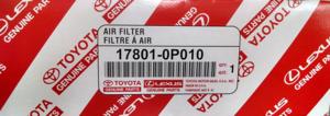2003-2015 Toyota Filter Element - Toyota (17801-0P010)