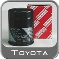 Genuine Oil Filter | Fits 4Runner, FJ Cruiser, Sequoia, Land Cruiser, Tacoma, Tundra - Toyota (90915-YZZD3)