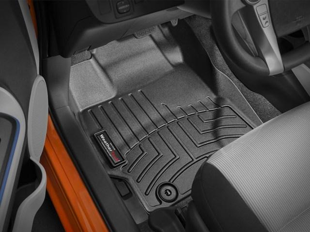 2012-2015 Prius C 1st Row Floor Liners - Black - Toyota (444181)