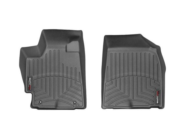 2008-2013 Highlander Hybrid 1st Row Floor Liners - Black - Toyota (441311)