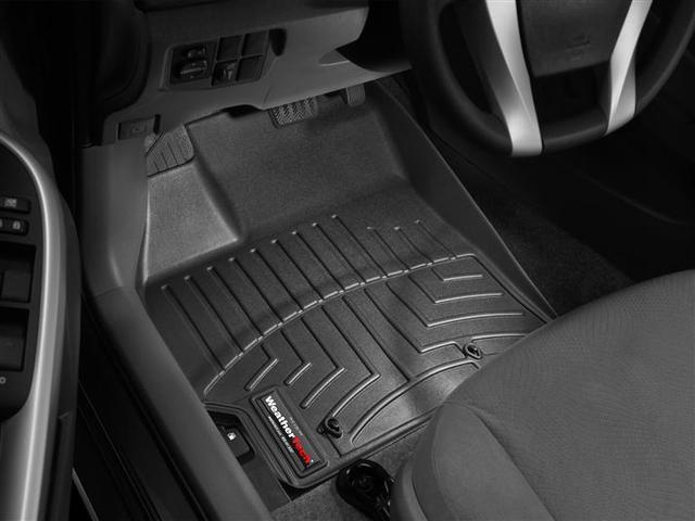 2010-2011 Prius 1st Row Floor Liners - Black - Toyota (442561)