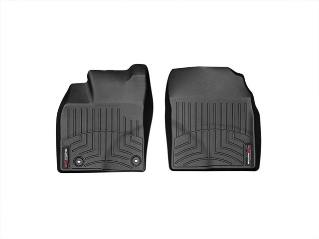2012-2015 Prius Plug-in 1st Row Floor Liners - Black - Toyota (445251)