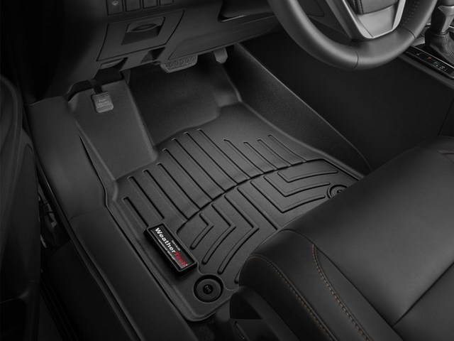 2014-2019 Highlander Hybrd and non Hybrid Models, 1st Row Floor Liners - Black - Toyota (446321)