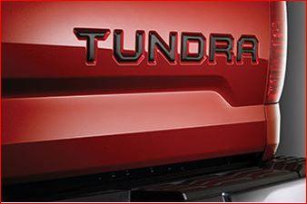 Badge Emblem Tailgate Insert- Black 2016-2019 - Toyota (PT948-34150-20)