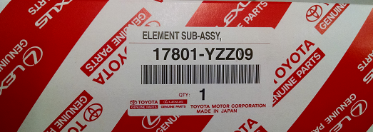 Element Sub-Assembly Ai - Toyota (17801-YZZ09)