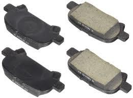 Rear Genuine Toyota OEM Brake Pad Set w/o Shims - Toyota (04466-02220)