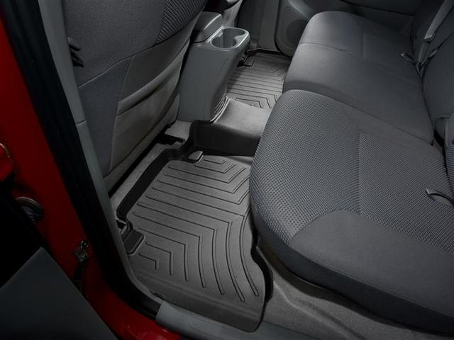 2005-2015 Tacoma Double Cab 2nd Row Floor Liner - Black - Toyota (440213)