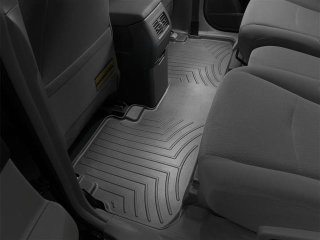 2008-2013 Highlander non Hybrid and Hybrid Models, 2nd Row Floor Liner - Black - Toyota (441152)
