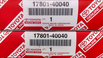 2 Pack of Genuine Toyota Air Filters - Toyota (17801-40040-2)